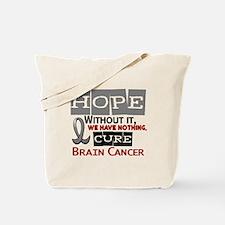 HOPE Brain Cancer 2 Tote Bag