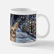 Chihuahua xmas holiday Mug