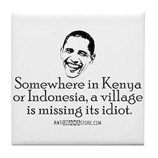 Village Idiot Tile Coaster