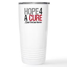 Brain Cancer Hope Cure Travel Mug