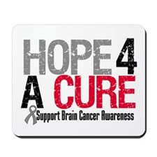 Brain Cancer Hope Cure Mousepad