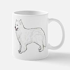 Samoyed portrait Mug