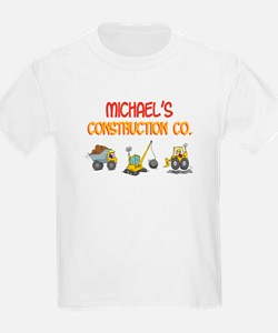 Michael's Construction Tracto T-Shirt