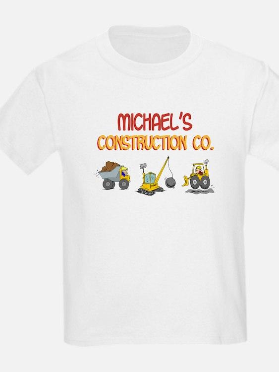 Michael's Construction Tracto T-Shirt