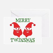 Merry Twinsmas - Greeting Card