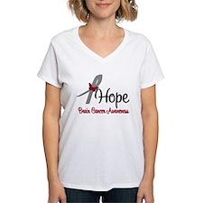 HopeButterfly Brain Cancer Shirt