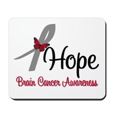 HopeButterfly Brain Cancer Mousepad