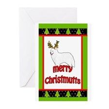 Samoyed christmas Greeting Cards (Pk of 10)