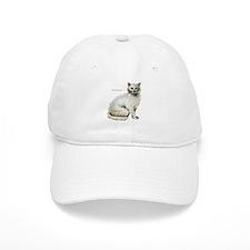 Turkish Angora Cat Baseball Cap