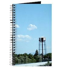 Water Tower - Blue Journal