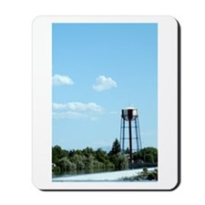 Water Tower - Blue Mousepad