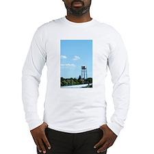 Water Tower - Blue Long Sleeve T-Shirt