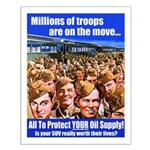 Millions of Troops Small Poster