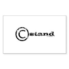 C-Stand Film Crew Rectangle Decal