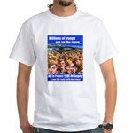 Millions of Troops White T-Shirt