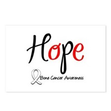 Bone Cancer HOPE Postcards (Package of 8)