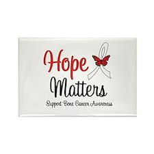 Bone Cancer Hope Matters Rectangle Magnet