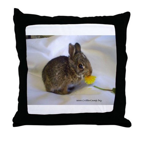 Hoppity 2 Throw Pillow