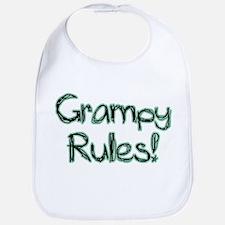 Grampy Rules! Bib
