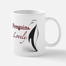 Penguins. Lovely. Mug