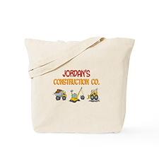 Jordan's Construction Tractor Tote Bag