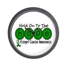 HOPE Kidney Cancer 6 Wall Clock