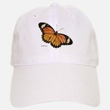 Orange Black Butterfly Baseball Baseball Cap