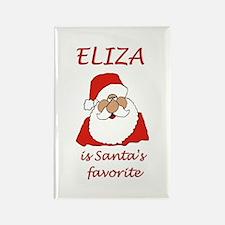 Eliza Christmas Rectangle Magnet