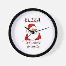 Eliza Christmas Wall Clock