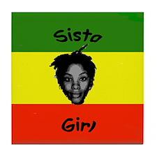 Sista Girl Tile Coaster