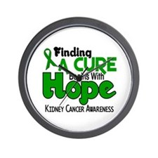 HOPE Kidney Cancer 5 Wall Clock