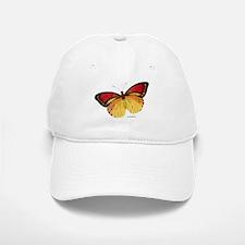 Red Yellow Butterfly Baseball Baseball Cap