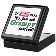 Just Ask Grampy Keepsake Box
