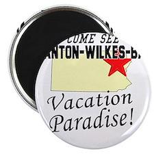 "Come See Scranton-Wilkes-Barr 2.25"" Magnet (100 pa"