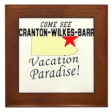 Come See Scranton-Wilkes-Barr Framed Tile