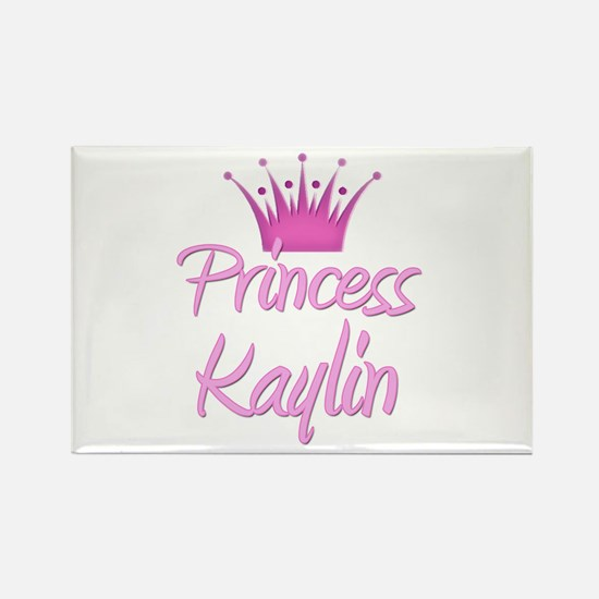 Princess Kaylin Rectangle Magnet
