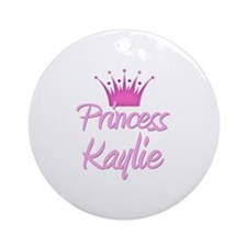 Princess Kaylie Ornament (Round)