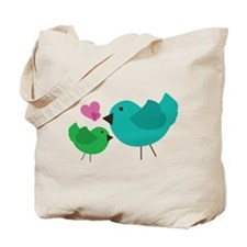 Euro Birdies Tote Bag