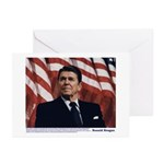 Reagan on Marx and Lenin Greeting Cards (Pk of 20)