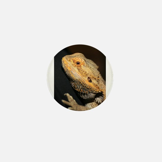 BlondeD the Bearded Dragon Mini Button