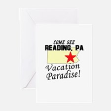 Come See Reading, PA Vacation Greeting Cards (Pk o