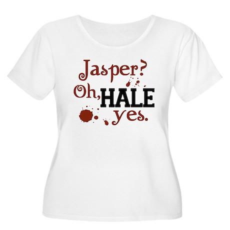 Jasper? Oh, HALE yes. Women's Plus Size Scoop Neck