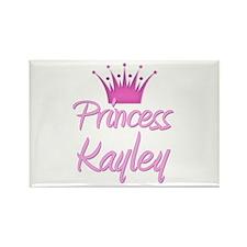 Princess Kayley Rectangle Magnet