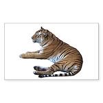 tiger7 Rectangle Sticker 50 pk)