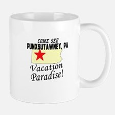 Come See Punxsutawney, PA Vac Mug