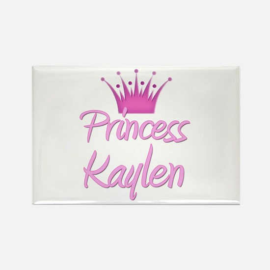 Princess Kaylen Rectangle Magnet
