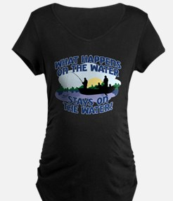 WHAT HAPPENS ON THE WATER... T-Shirt