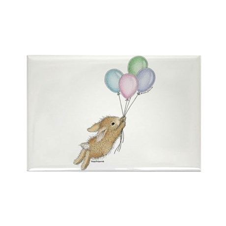HappyHoppers® - Bunny - Rectangle Magnet