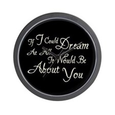 Twilight Dream Edward Wall Clock