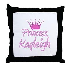 Princess Kayleigh Throw Pillow